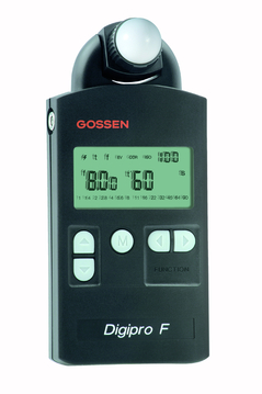 Digipro F: Exposure Meter For Flash & Ambient, Swivel Head