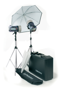 Style 300RX/600RX Kit With Umbr., Refle., Stands And Case