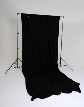 10' x 24' Knitted Background - Black