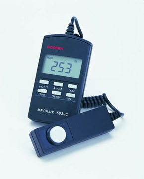 Mavolux 5032C Digital USB: Digital Footcandle/Lux Meter
