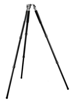 Systematic Series 4 Alum Tripod, Long Eye-Level 3-Section