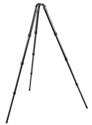 SYSTEMATIC Series 4 carbon tripod, long 4-section, eye level