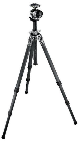 Mountaineer Series 3 Carbon Tripod with Ball Head, 3-Section