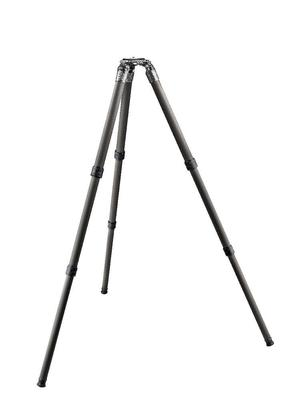 SYSTEMATIC Series 5 carbon tripod, long 3-section, eye-level