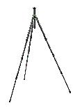 Safari Collection Series 2, 4 Section Tripod