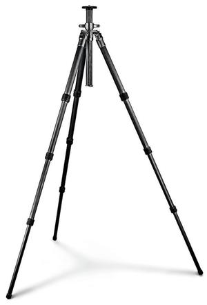 Mountaineer Series 3 Carbon Tripod, Standard Level 4-Section