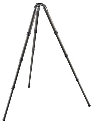 SYSTEMATIC Series 5 carbon tripod, long 4-section, eye-level