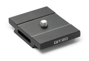 Gitzo quick release plate, aluminum, short D profile
