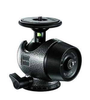 Series 2 Magnesium Center Ball Head with Bubble Sphere