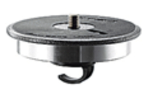 Series 4 & 5 Systematic Aluminum Power Disc Flat Base & Hook