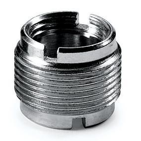 Brass Bushing - 10 mm Long, Convert 5/8'' to 3/8''