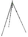 Safari Collection Series 2, 4 Section Long Tripod