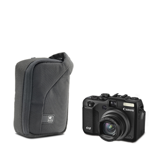 ZP-6 DL; Compact Zip Pouch for a point & shoot camera