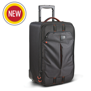 FLYBY-77 PL;VALISE TROLLEY P/4 BOITIERS +8-10 OBJ+ ORDI 17''