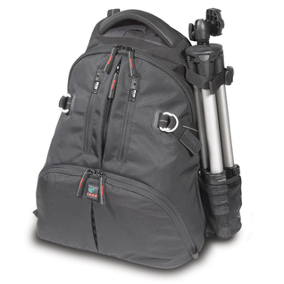 Digital Rucksack for D/SLR w/mounted lens, 2-3 lenses, flash