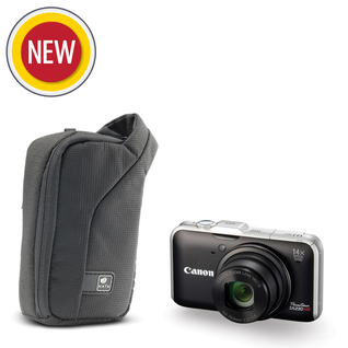 ZP-5 DL; Compact Zip Pouch for a point & shoot camera