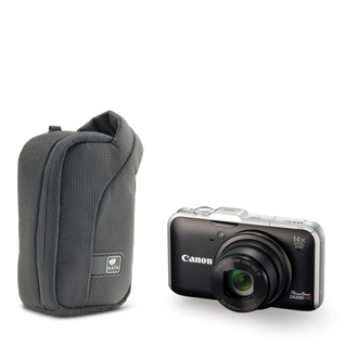 ZP-4 DL; Compact Zip Pouch for a point & shoot camera