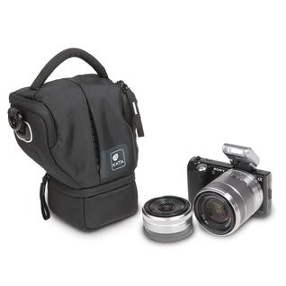 MarvelX -40 DL; Halftertasche für Systemkamera + 2. Objektiv