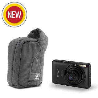 ZP-2 DL; Compact Zip Pouch for a point & shoot camera