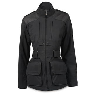 Lino Field Jacket-woman-S/Blk