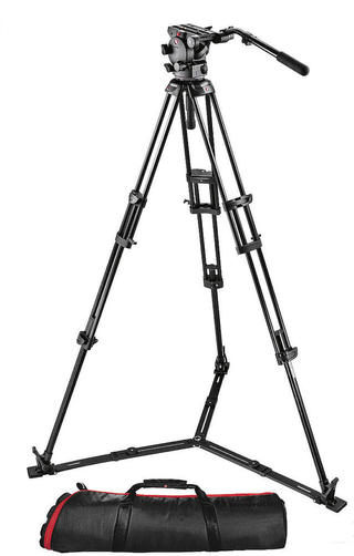 526 Pro Fluid Video Head+545GB Pro Alu Video Tripod+MBAG100P