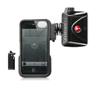 KIT COQUE KLYP IPHONE 4/4S & TORCHE 24 LED
