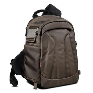 AGILE II;SAC SLING REFLEX+18-105mm+1-2 OBJ + TABLETTE-Bronze