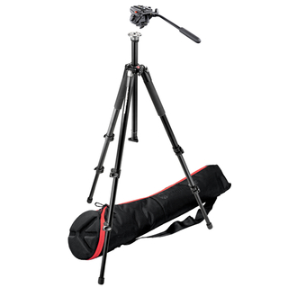 Video Kit with 055XB Tripod, 701HdV Head, MBAG80 Bag