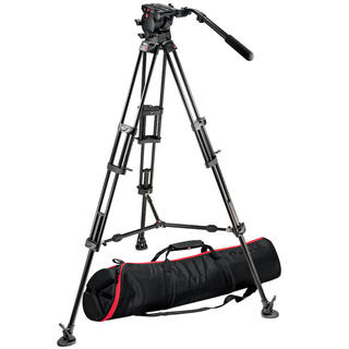 526 Pro Fluid Video Head+545B Pro Alu Video Tripod+MBAG100PN
