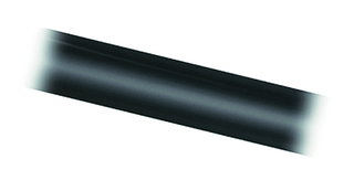 Black 100cm long Aluminium Tube