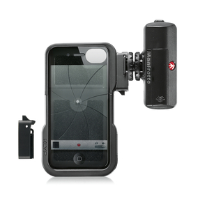 KIT COQUE KLYP IPHONE 4/4S & TORCHE 12 LED