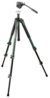 190XV View Aluminium Tripod with 701HdV Head