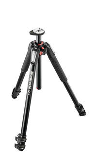 055 aluminium 3-section tripod, with horizontal column