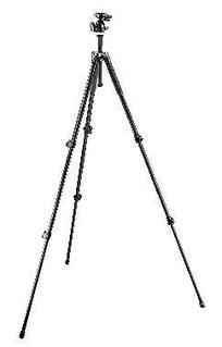 293 Aluminum Kit, Tripod 3 sections with Ball Head QR