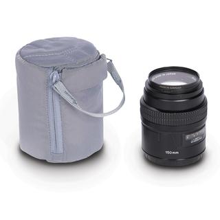 Astuccio III lens pouch Grey
