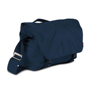 Allegra 30 borsa messenger media blu