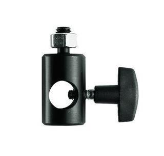 Rapid Adapt. Converts 5/8'' Light Stand Tip-17mm 3/8''M Thread