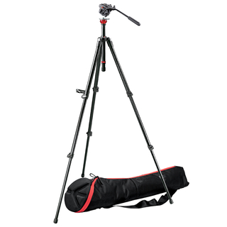701HDV Pro Video Head+755XB MDEVE Aluminum Tripod+MBAG80