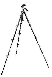 293 Aluminum Kit, Tripod 4 sections with 3way Head QR