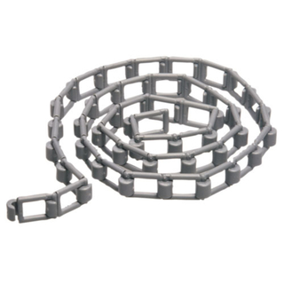 Full Length Nylon Chain Grey