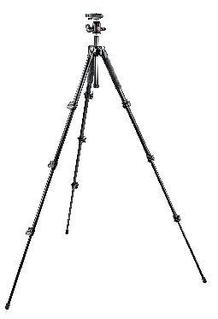 293 Aluminum Kit, Tripod 4 sections with Ball Head QR