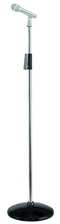 Chrome Steel Microphone Stand