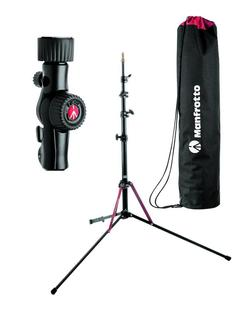 Kit lighting con stativo nanopole 2 in 1 e snap tilthead