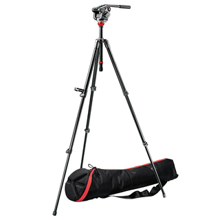 501HDV Pro Video Head + 755XB Tripod + MBAG80P
