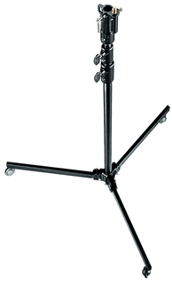 Black Aluminium 3-Section Studio Stand