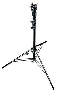 Black Air Cushioned Aluminium Senior Stand