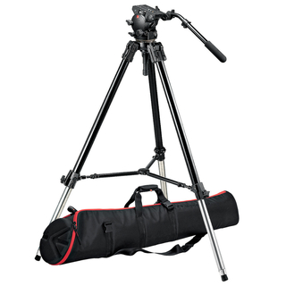 526 Pro Fluid Video Head and 528XB Tripod with MBAG120P