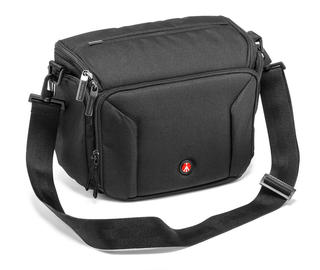 SHOULDER BAG 10; MESSENGER P/REFLEX STD +2 OBJ + FLASH + TAB