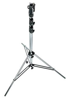 10.9' Chrome Plated Steel Heavy Duty Stand w/Leveling Leg