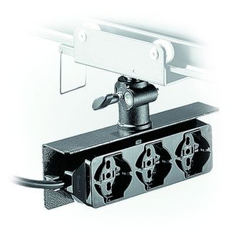 Overhead Outlet-Box with 3 Universal Sockets